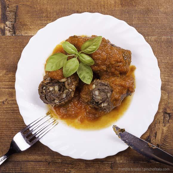 italian beef braciole!