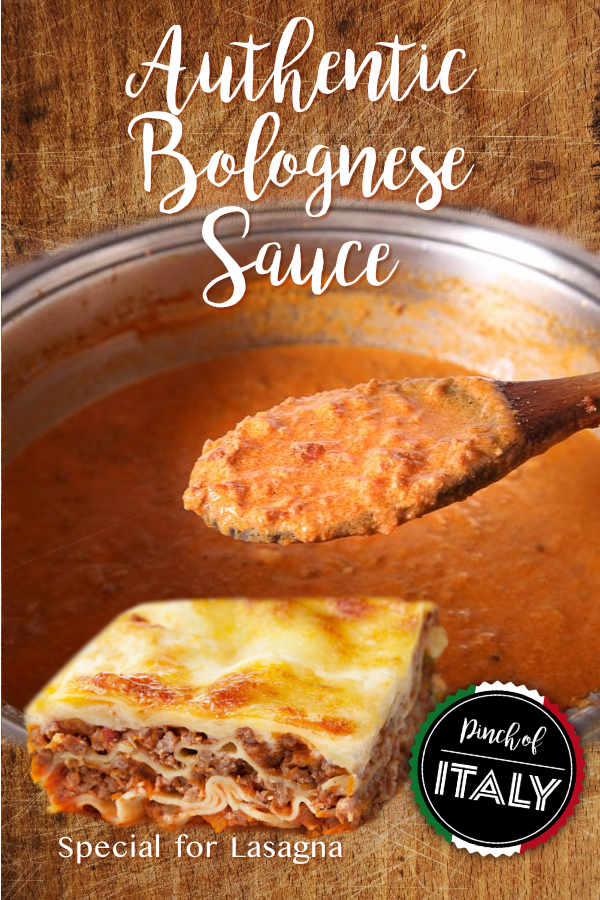Authentic Italian Bolognese Sauce For Spaghetti And Lasagna