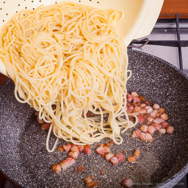 Throw Spaghetti in the Pan...