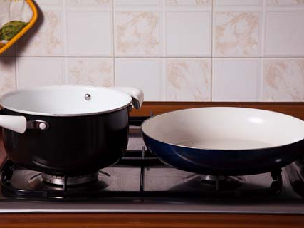 1. pot and pan ready to begin