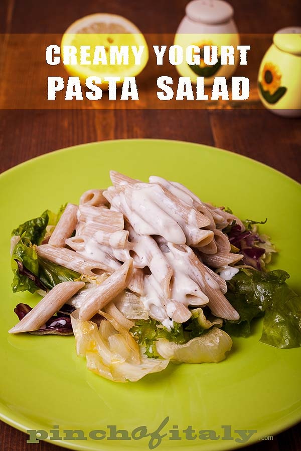 Creamy Yogurt Pasta Salad