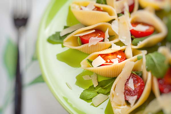 Tricolor Italian Healthy Pasta Salad