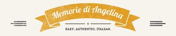 memorie di angelina logo