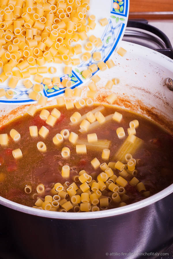 how to make authentic italian pasta fagioli