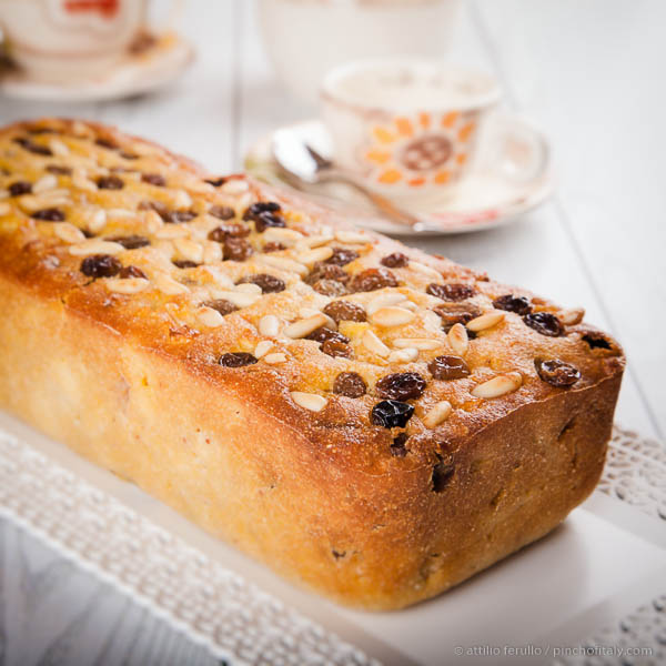 Italian Apple Cake With Pine Nuts