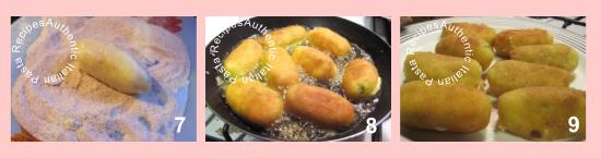 Potato Croquettes Steps 7-8-9