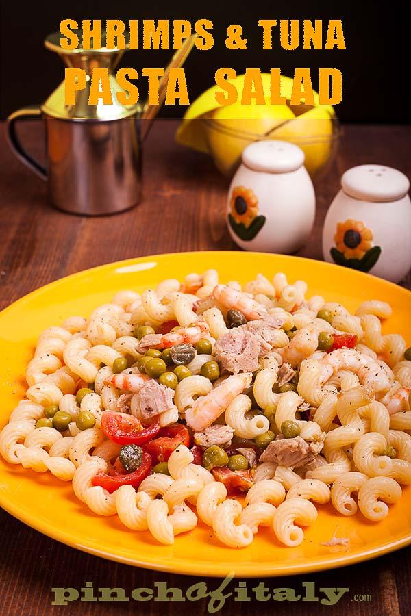 Shrimps & Tuna Pasta Salad