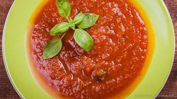 Tuscan Tomato Pasta Sauce