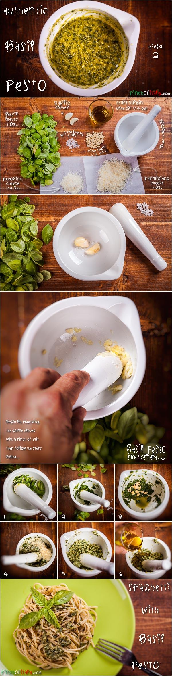 Authentic Basil Pesto Recipe